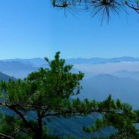 Magnificent view on the way to Yanzuishan – Dasyuehshan