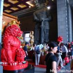 Entering in the Hall of the Four Heavenly Kings