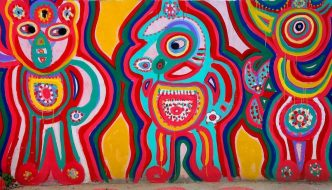 Rainbow Village Taichung: Detail