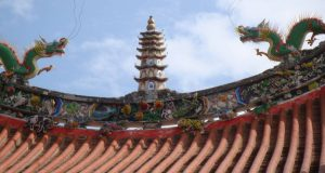 Roof of Tianhou Temple in Lugang
