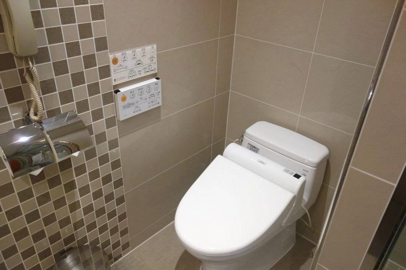 "All the guestrooms in Taichung Harbor Hotel are equipped with a Japanese Toto ""Washlet"""
